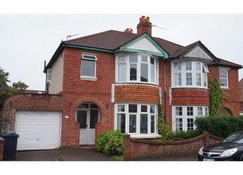 Thumbnail 3 bed semi-detached house for sale in Kensington Road, Gosport