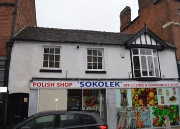 Thumbnail 1 bedroom flat for sale in Shropshire Street, Market Drayton