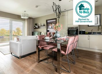 Thumbnail 2 bedroom flat for sale in Fletton Quays, Peterborough