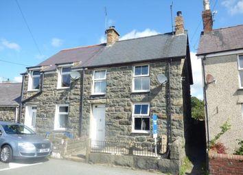 Thumbnail 2 bed semi-detached house for sale in Ty Engan, Chwilog, Pwllheli, Gwynedd