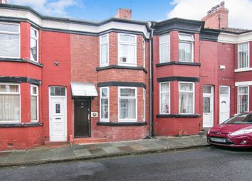 Thumbnail 3 bed terraced house for sale in Onslow Road, New Ferry, Wirral