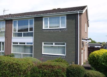 Thumbnail 2 bed flat for sale in Gresham Close, Cramlington