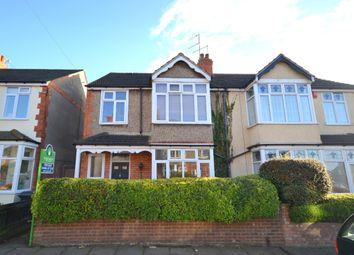 Thumbnail 4 bedroom semi-detached house for sale in Elmhurst Avenue, Abington, Northampton