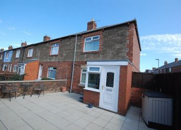 Thumbnail 2 bed terraced house for sale in Brentwood Avenue, Newbiggin-By-The-Sea