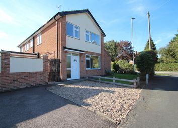 Thumbnail 3 bed semi-detached house to rent in Halstead Road, Mountsorrel, Loughborough
