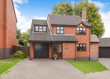 Thumbnail 4 bed detached house for sale in Holbourne Close, Barrow Upon Soar, Loughborough