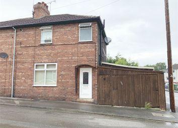 Thumbnail 3 bedroom semi-detached house for sale in Sime Street, Worksop, Nottinghamshire