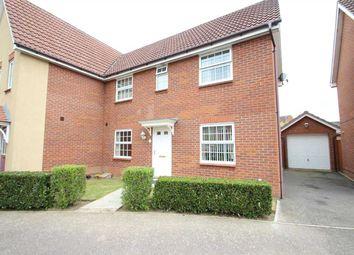 Thumbnail 3 bed semi-detached house for sale in Llewellyn Drift, Grange Farm, Kesgrave, Ipswich