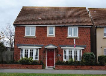 Thumbnail 4 bedroom detached house for sale in Moredon Road, Swindon