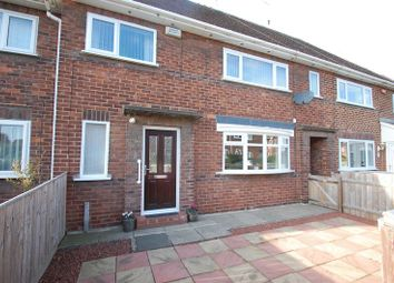 Thumbnail 3 bed terraced house for sale in Hough Crescent, Thornaby, Stockton-On-Tees