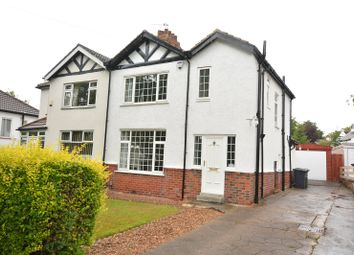 Thumbnail 3 bed semi-detached house for sale in Scott Hall Road, Leeds, West Yorkshire