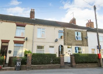 Thumbnail 3 bed terraced house for sale in Belvoir Road, Coalville, Leicestershire