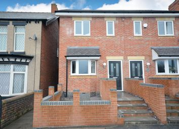 Thumbnail 3 bed semi-detached house for sale in Station Road, Old Whittington, Chesterfield