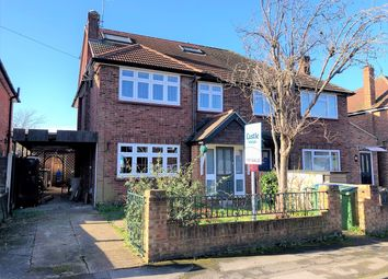 Thumbnail 4 bed semi-detached house for sale in Havers Avenue, Hersham, Walton-On-Thames