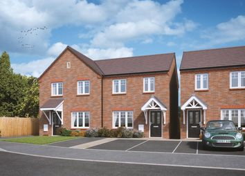 Thumbnail 3 bed semi-detached house for sale in Perrycrofts Crescent, Tamworth