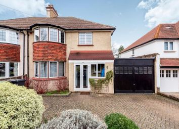 Thumbnail 4 bedroom semi-detached house to rent in Manor Green Road, Epsom