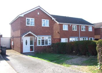 Thumbnail 3 bed detached house for sale in Arundel Drive, Spondon, Derby