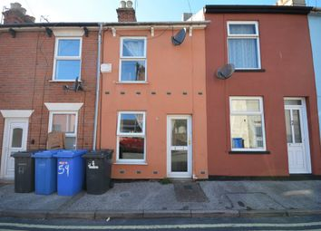 Thumbnail 2 bedroom terraced house for sale in Reeve Street, Lowestoft