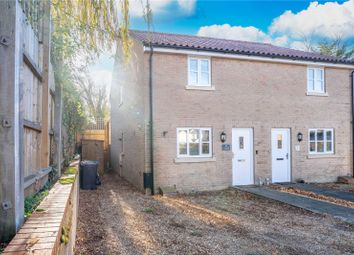 Thumbnail 2 bed semi-detached house for sale in Tower Road, Little Downham, Ely