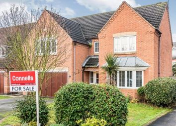 Thumbnail 4 bed detached house for sale in Foxton Close, Alrewas, Burton-On-Trent