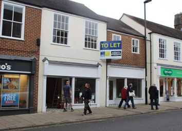 Thumbnail Retail premises to let in Fully Refurbished Retail Units, Blandford Forum, Dorset