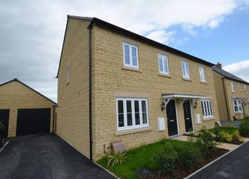 Thumbnail 3 bed semi-detached house to rent in Elmhurst Way, Carterton