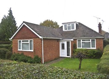 Thumbnail 3 bed detached bungalow to rent in Pine Grove, Church Crookham, Fleet
