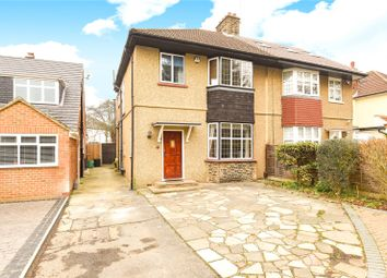 Thumbnail 4 bed semi-detached house for sale in Park Way, Ruislip, Middlesex