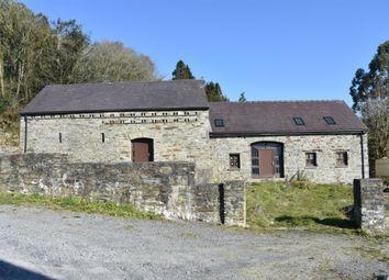 Thumbnail 4 bed barn conversion for sale in Ponthirwaun, Cardigan