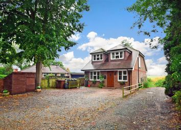 Thumbnail 3 bed detached house for sale in Vicarage Lane, Upper Stoke, Rochester, Kent
