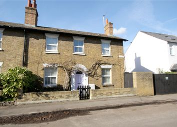 Thumbnail 3 bed semi-detached house for sale in Grove Road, Chertsey, Surrey
