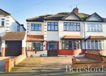 Repton Drive, Gidea Park, Essex RM2. 4 bed semi-detached house for sale