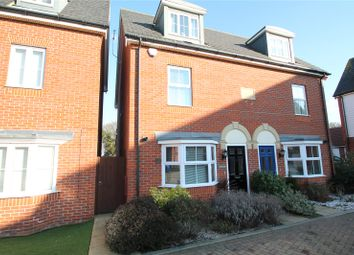Thumbnail 3 bed semi-detached house for sale in Honesty Close, Sittingbourne, Kent