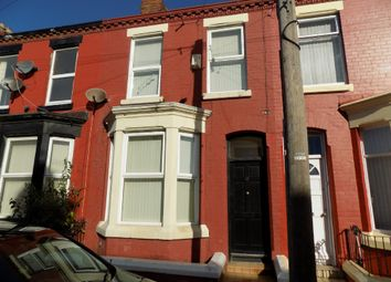 Thumbnail 3 bed terraced house to rent in Channell Road, Fairfield, Liverpool