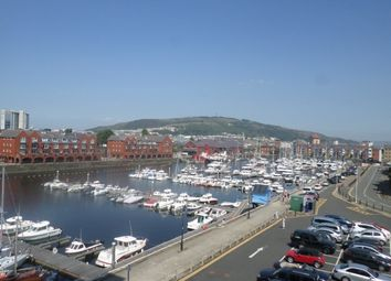 Thumbnail 2 bed flat to rent in Meridian Wharf, Marina, Swansea.