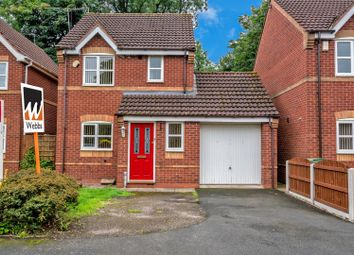 Thumbnail 3 bed detached house for sale in Teal Grove, Wednesbury