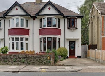 Thumbnail 3 bed semi-detached house for sale in Baxter Avenue, Southend-On-Sea
