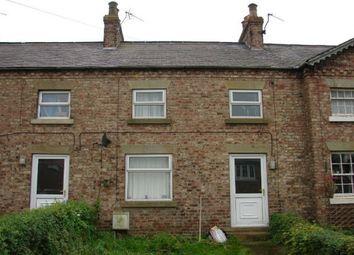 Thumbnail 3 bedroom terraced house to rent in High Row, Kirby Misperton, Malton