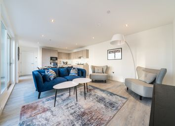 Thumbnail 3 bed flat to rent in Trinity Way, Acton