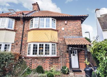 Thumbnail 4 bed semi-detached house for sale in Sherwood Road, London