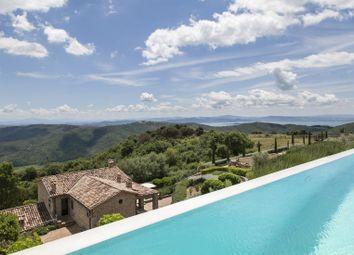 Thumbnail 6 bed farmhouse for sale in Lake, Lisciano Niccone, Perugia, Umbria, Italy
