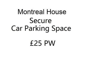 1 Bedroom Parking/garage for rent