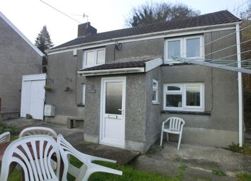 Thumbnail 2 bed cottage to rent in Old Road, Ynysmeudwy, Swansea.
