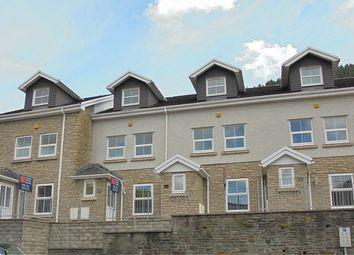 Thumbnail 4 bed terraced house for sale in High Street, Ogmore Vale, Bridgend, Bridgend.