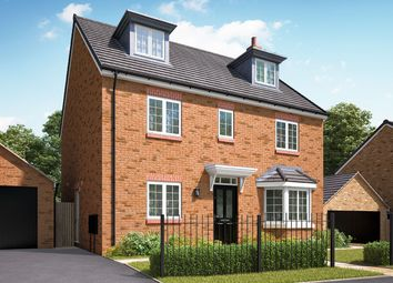 """Thumbnail 5 bedroom detached house for sale in """"The Fletcher"""" at Hartburn, Morpeth"""