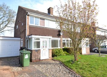Thumbnail 3 bed semi-detached house to rent in Eyton Close, Redditch
