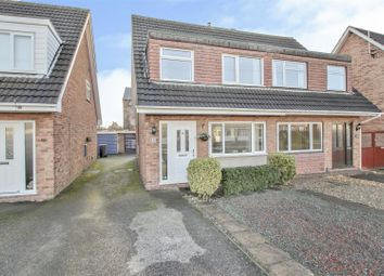 Thumbnail 3 bed semi-detached house for sale in Alford Close, Beeston, Nottingham