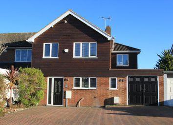 Thumbnail 4 bedroom semi-detached house to rent in Hurst Close, Staplehurst, Kent