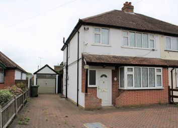 Thumbnail 3 bed semi-detached house to rent in Town Lane, Stanwell, Staines