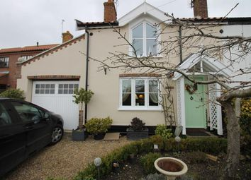 Thumbnail 2 bed end terrace house for sale in Church Road, Blundeston, Lowestoft